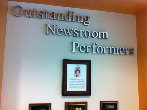 Outstanding Newsroom Performers