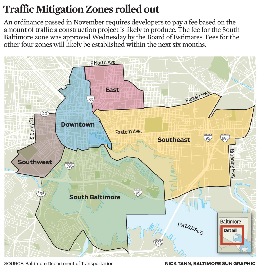 Traffic Mitigation Zones rolled out
