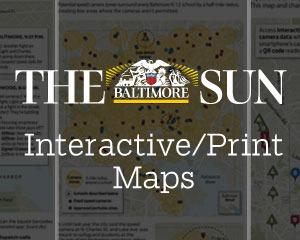 Baltimore Sun Interactive/Print Maps